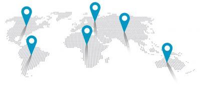 Map monde revendeurs